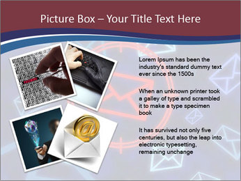 Email icon PowerPoint Templates - Slide 23