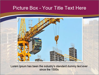 Tower cranes build PowerPoint Template - Slide 15