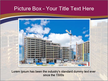 Tower cranes build PowerPoint Template - Slide 16