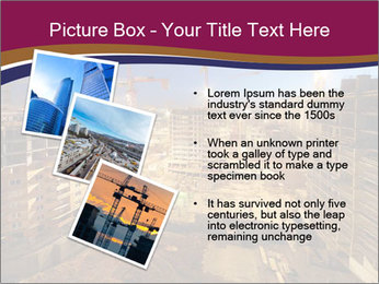 Tower cranes build PowerPoint Template - Slide 17