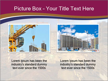 Tower cranes build PowerPoint Template - Slide 18