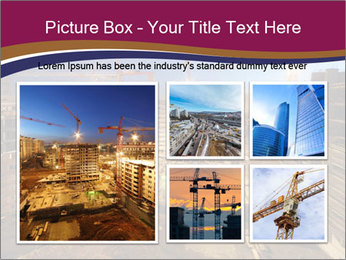 Tower cranes build PowerPoint Template - Slide 19