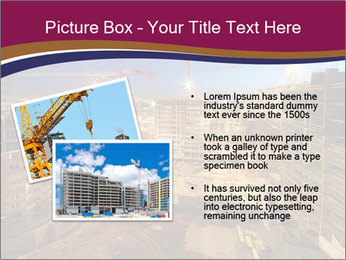 Tower cranes build PowerPoint Template - Slide 20