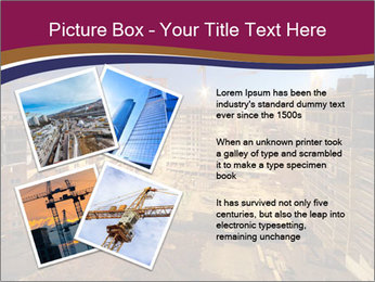 Tower cranes build PowerPoint Template - Slide 23