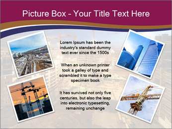Tower cranes build PowerPoint Template - Slide 24