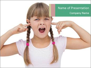 Little girl PowerPoint Templates - Slide 1