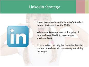 Little girl PowerPoint Template - Slide 12