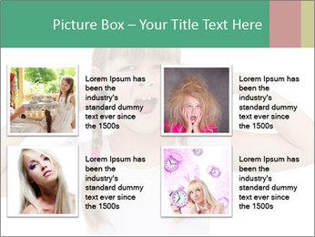 Little girl PowerPoint Template - Slide 14