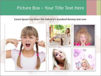 Little girl PowerPoint Template - Slide 19