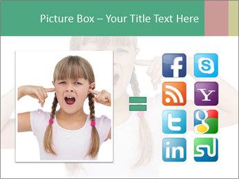 Little girl PowerPoint Template - Slide 21