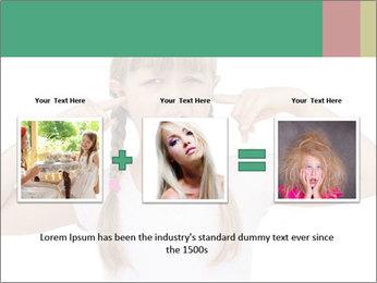 Little girl PowerPoint Template - Slide 22