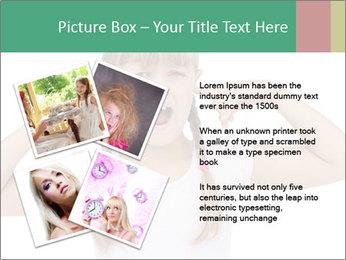 Little girl PowerPoint Templates - Slide 23