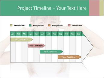 Little girl PowerPoint Template - Slide 25