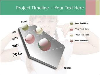 Little girl PowerPoint Templates - Slide 26