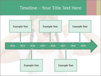 Little girl PowerPoint Template - Slide 28