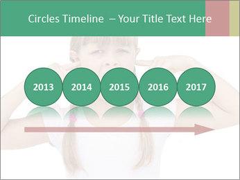 Little girl PowerPoint Template - Slide 29