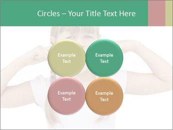 Little girl PowerPoint Template - Slide 38