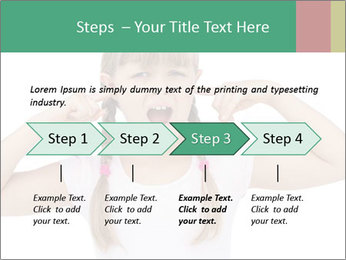 Little girl PowerPoint Templates - Slide 4