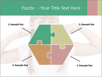 Little girl PowerPoint Template - Slide 40