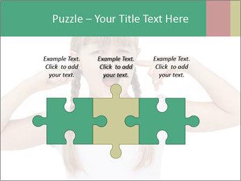Little girl PowerPoint Template - Slide 42