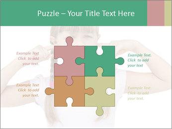 Little girl PowerPoint Templates - Slide 43