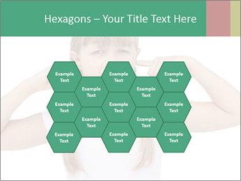 Little girl PowerPoint Template - Slide 44