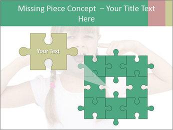Little girl PowerPoint Template - Slide 45
