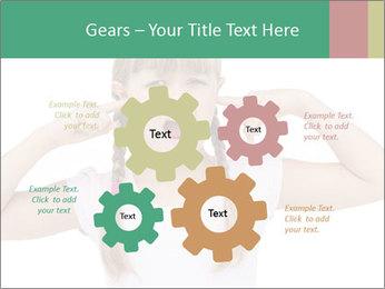 Little girl PowerPoint Templates - Slide 47