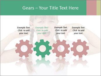 Little girl PowerPoint Template - Slide 48