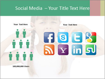Little girl PowerPoint Templates - Slide 5