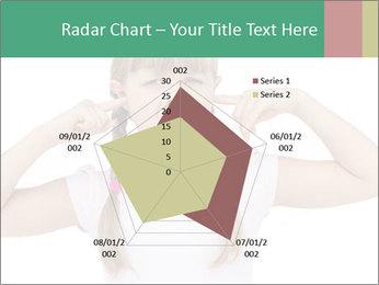 Little girl PowerPoint Template - Slide 51