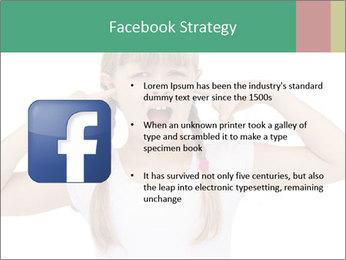 Little girl PowerPoint Template - Slide 6
