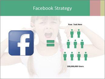 Little girl PowerPoint Template - Slide 7