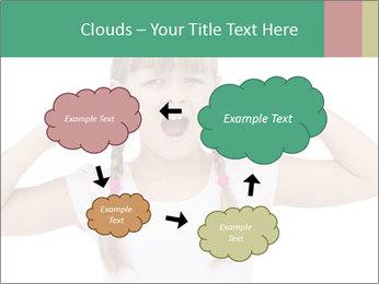 Little girl PowerPoint Template - Slide 72