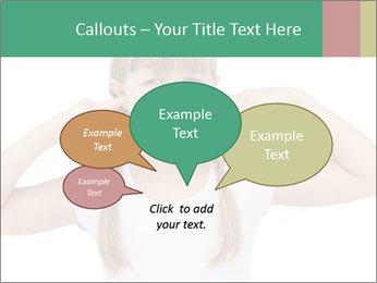 Little girl PowerPoint Template - Slide 73