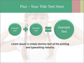 Little girl PowerPoint Template - Slide 75
