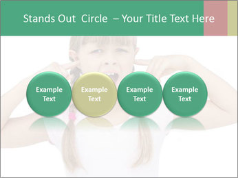 Little girl PowerPoint Template - Slide 76