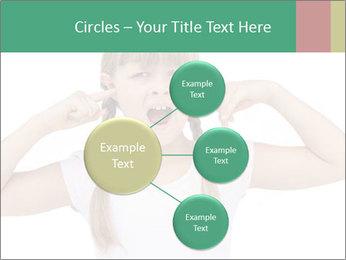 Little girl PowerPoint Template - Slide 79