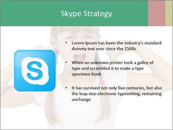 Little girl PowerPoint Template - Slide 8