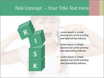 Little girl PowerPoint Template - Slide 81
