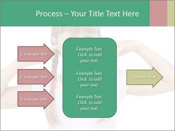 Little girl PowerPoint Template - Slide 85