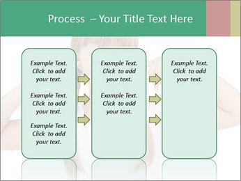 Little girl PowerPoint Template - Slide 86