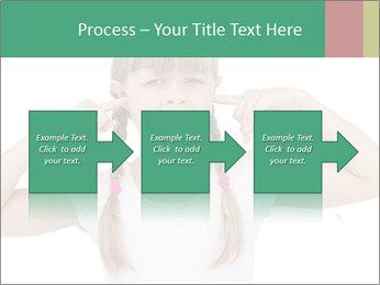 Little girl PowerPoint Template - Slide 88