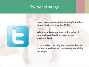 Little girl PowerPoint Templates - Slide 9
