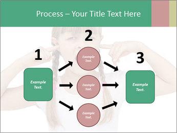 Little girl PowerPoint Template - Slide 92