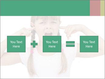 Little girl PowerPoint Template - Slide 95