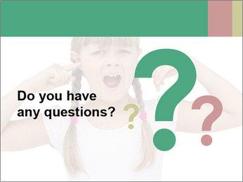 Little girl PowerPoint Template - Slide 96