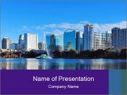 Orlando Lake PowerPoint Templates