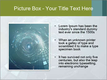 3D abstract science PowerPoint Templates - Slide 13