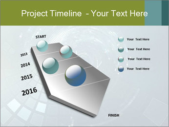 3D abstract science PowerPoint Templates - Slide 26